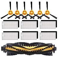 TOOGOO 交換用アクセサリーキット フィルターメインブラシサイドブラシ Ecovacs DEEBOT N79S N79 Robotic掃除機(フィルター+ブラシ)