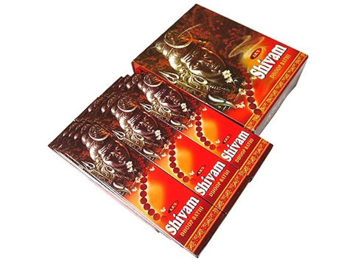 病細部戸棚A.R.'s(エーアールエス) シヴァム香 マサラスティック SHIVAM 12箱セット