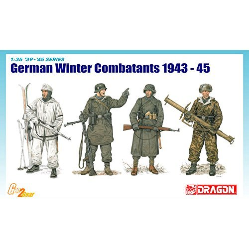 ドラゴン 6705 1/35 WW.II ドイツ軍 冬季装備兵 1943-45