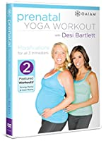 Prenatal Yoga Workout With Desi Bartlett [DVD]