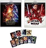 【Amazon.co.jp限定】スター・ウォーズ/フォースの覚醒&スター・ウォーズ/最後のジェダイの2本セット [Blu-ray] 「スター・ウォーズ」コレクション・カードセット(10枚組)