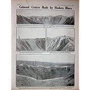 1917 人の Ww1 鉱山噴火口の役人の兵士のフランスの爆薬