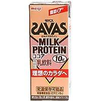 明治 (ザバス)ミルクプロテイン ココア 200ml紙パック×24本入