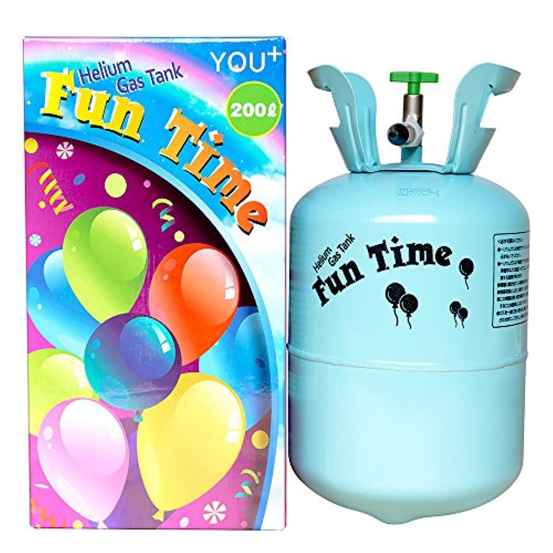 YOU+ ヘリウムガス バルーン?風船用 使い捨て ヘリウム缶 補充用 (200L)