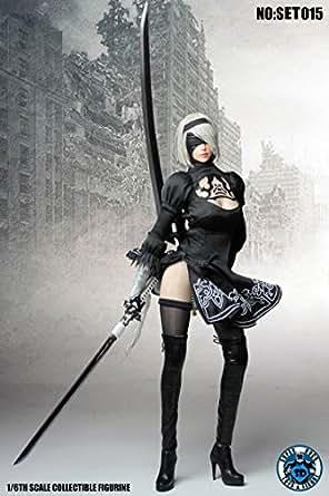 SUPER DUCK 1/6 コスプレシリーズ SET015 セクシー美人ヘッドと服 セット [並行輸入品]