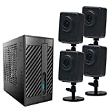 Planex CS-NVR01-SET4 スマカメ専用 ネットワークビデオレコーダー(9ch) スマカメセット4(CS-QR300*4台)