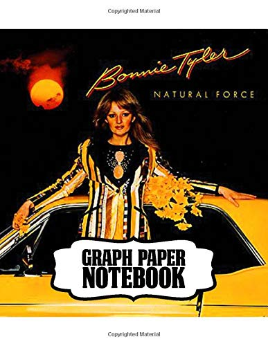 Notebook: Bonnie Tyler Welsh Singer It's a Heartache and Total Eclipse of the Heart Biggest Hit Best-Selling Singles Of All Time, Large Notebook for Writting: 110 Pages, 8.5