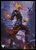 マジック:ザ・ギャザリング プレイヤーズカードスリーブ 『灯争大戦』ステンドグラス 《炎の職工、チャンドラ》 (MTGS-111)