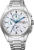 [シチズン]CITIZEN 腕時計 EXCEED エクシード Eco-Drive エコ・ドライブ 電波時計 ダイレクトフライト針表示式 薄型 AT8070-56A メンズ