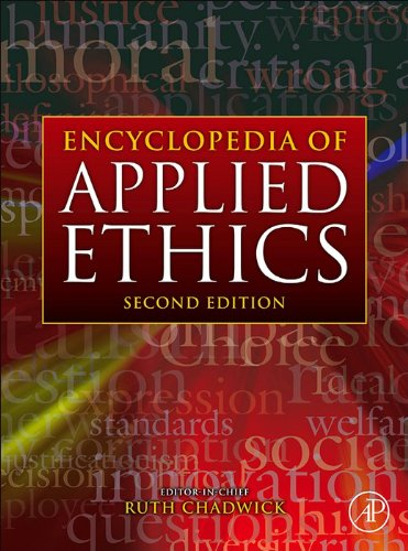 Encyclopedia of Applied Ethics (English Edition)