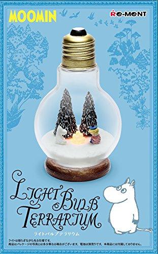 ムーミン Light Bulb テラリウム #1 ムーミン & トゥーティッキ