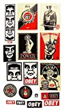 (オベイ)OBEY ステッカー シール 17種ワンセット Sticker Pack 3