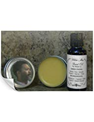 Urban Man Beard Oil and Sculpting Beard Balm Kit Natural and Organic 1 oz. each [並行輸入品]