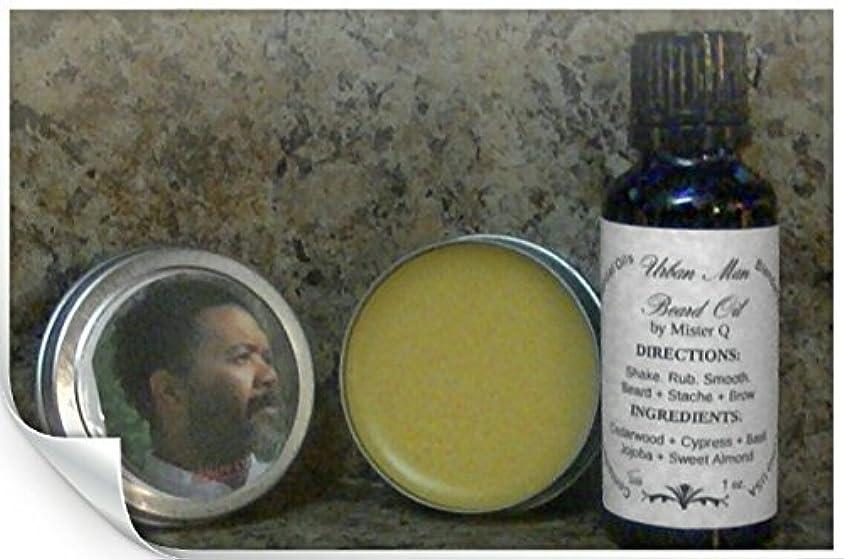 デンプシープレゼンター上がるUrban Man Beard Oil and Sculpting Beard Balm Kit Natural and Organic 1 oz. each [並行輸入品]