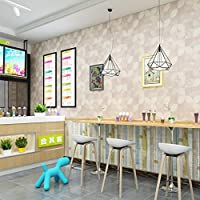 LIXINLIU2-壁紙ウォールステッカー 壁紙、現代のシンプルなpvc防水厚壁カバー店ホテルの寝室工学平野カラースクエア防汚壁紙 壁紙ウォールステッカー-10.19 (Color : 3)