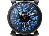 腕時計(手巻き) 5016.7 BK/BL/BK ガガミラノ画像①