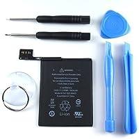 アイポッドタッチ 第6世代 電池交換セット iPhoneにも使える星形ドライバー付き 【Replacement Battery with Tool 6pcs】 for iPod touch 6th gen.