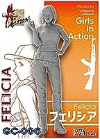 ジルプラ 1/24 ガールズインアクションシリーズ フェリシア レジンキット GC-006