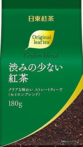 日東紅茶 渋みの少ない紅茶 180g