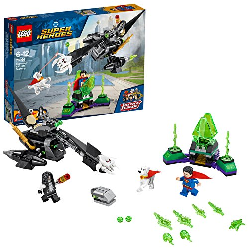レゴ(LEGO) スーパー・ヒーローズ クリプトナイトの監獄からの救出 76096