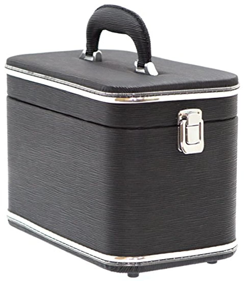 トランク状ナチュラエピ調水絞縦型トレンチケース ブラック 鍵無 6489-01