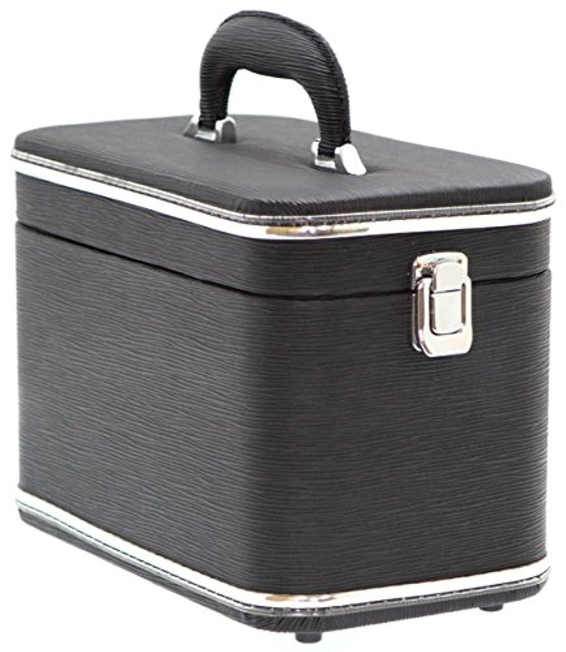 例ドロップ移動するエピ調水絞縦型トレンチケース ブラック 鍵無 6489-01