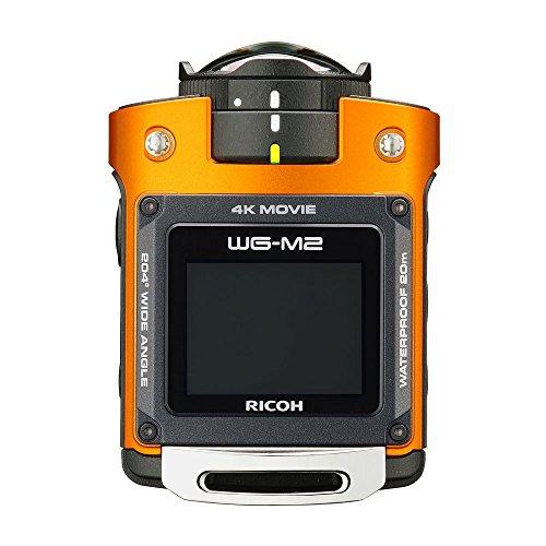 RICOH 防水アクションカメラ WG-M2 オレンジ 4K動...