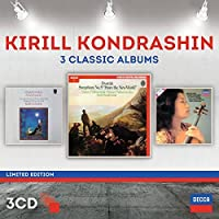 Kirill Kondrashin: Three Classic Albums [3 CD][Limited Edition] by Kirill Kondrashin (2014-09-16)