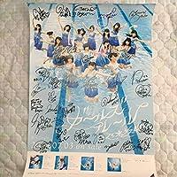 レア限定品 乃木坂46 ガールズルール ポスター 1期生全員32名 直筆サイン入り