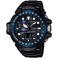 Casio Men's G-Shock Gwn1000B Master Of G Series Quality Watch - Black / One Size Blue