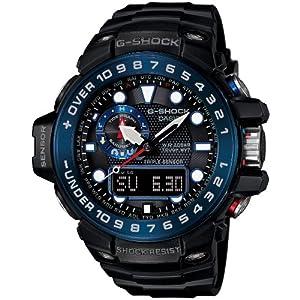 [カシオ]CASIO 腕時計 G-SHOCK ジーショック ガルフマスター 電波ソーラー GWN-1000B-1BJF メンズ