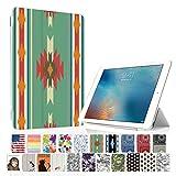 MIxUP iPad Pro 9.7 スマート カバー バック ケース オートスリープ 2016 iPadPro 9.7インチ スタンド ケースカバー おしゃれ 民族調 チマヨ グリーン MXP-P9-ssTRI-chi/GRN