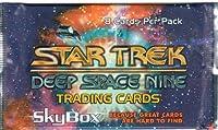 Star Trek Deep Space Nine Trading Cards - Pack of 8