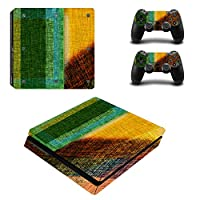Zhhlaixing 革新的な PS4slim Vinyl Decal Cool Sticker クール Covering Skin Stickers for PlayStation4 Controller + Console