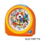 SEIKO CLOCK(セイコークロック) 妖怪ウォッチ目覚まし時計(オレンジ塗装) CQ138E CQ138E