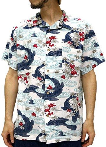 (スタイルバイオリジナルス) Style by Originals POWER JEANS VALUE アロハシャツ 半袖 シャツ レーヨン ハイビスカス 10color L 柄C