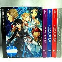 7本 Blu-ray 1期 ソードアートオンライン 全9巻 生産限定版 収納BOX付き