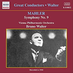 マーラー:交響曲第9番(ワルター)(1938)