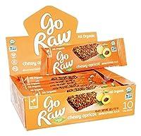 Go Raw - 有機発芽バー ボックス歯ごたえアプリコット - 1バー