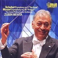 Schubert: Symphony No.9; Mozart: Symphony No 38 in D major, K504 'Prague' by Israel Philharmonic Orchestra (2011-02-08)