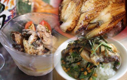 広島産牡蠣(かき)のおつまみと瀬戸内海産焼きあなご、炙り鯛茶漬けギフトセット!牡蠣のおつまみ80g入りが各3パック、白焼き50gが1個(わさび、刺身醤油付き)とあなご蒲焼き60gが2個(タレ付き)炙り鯛茶漬け2パック(冷凍)
