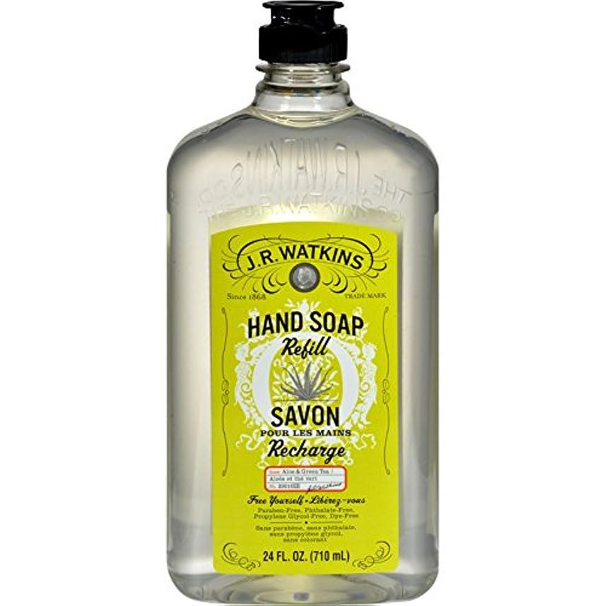 郵便物水族館一瞬J.R. Watkins Liquid Hand Soap - Refill - Aloe and Green Tea - 24 fl oz