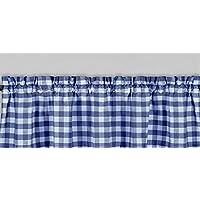 ポリエステルギンガムチェック模様格子柄デザインキッチンカーテン飾り布ウィンドウTreatment 58