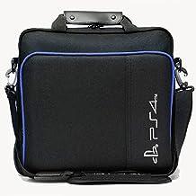 収納バッグ for Sony PS4,ソニー Playstation 4専用収納ケース case耐久性あり ギフトも最適 超軽量 埃や汚れから保護 キャリーバッグ コンソールバッグ ブラック