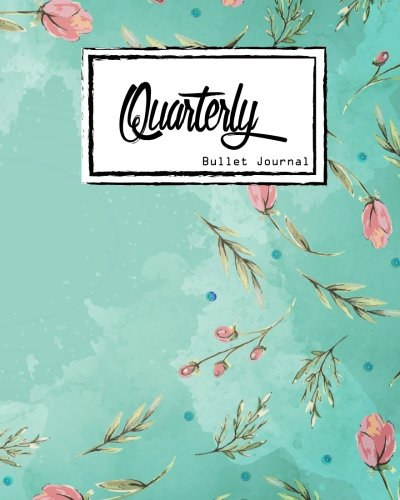 Quarterly Guided, Pink Flower and Blue Sky Notebook: Small Journal Notebook Diary for Adults and Kids Createspace Independent Publishing Platform