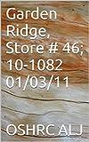Garden Ridge, Store # 46; 10-1082  01/03/11 (English Edition)