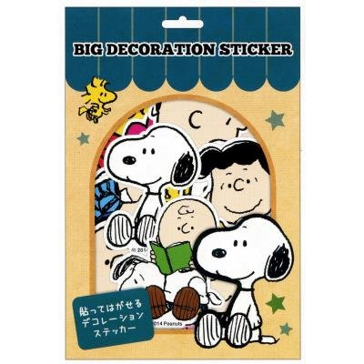 RoomClip商品情報 - 【スヌーピー】ビッグデコレーションステッカー(フレンズ)
