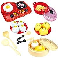 KESOTO ままごと ごっこ遊び 調理器具 食べ物セット 料理をすること おままごとおもちゃ 子ども 贈り物