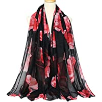 Kingree Women's Stole, Autumn Winter Scarf, Warm Muffler Neckerchief for Women and Girls
