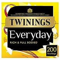 [Twinings] トワイニング日常200ティーバッグ580グラム - Twinings Everyday 200 Tea Bags 580G [並行輸入品]
